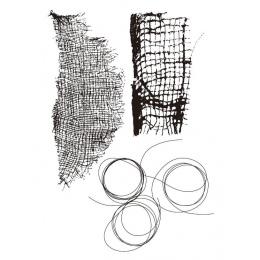 Tło przezroczysty przezroczysty pieczęć silikonowa/Seal dla notatnik diy/album fotograficzny dekoracyjne jasne pieczęć arkuszy A