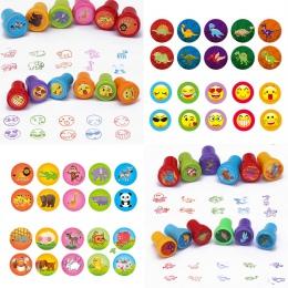 10 sztuk okrągły Multicolor zabawy dziecko w wieku 1 Box czerwony pieczęć śliczne Panda nagrodę zabawki zdjęcie ozdoba do albumu