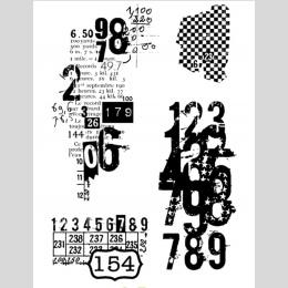 Numer 6 przezroczysty przezroczysty pieczęć silikonowa/uszczelnienie do DIY scrapbooking/album fotograficzny dekoracyjne jasne p