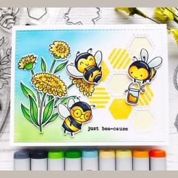 Dostawca usług płatniczych będący osobą trzecią szczęśliwa mała pszczoła jasne pieczątki/dzieci jasne stemple i matryce do scrap