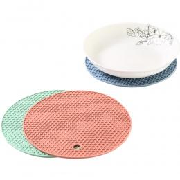 Hot New 18 cm okrągły żaroodporna mata silikonowa napój kubek podstawki antypoślizgowe uchwyt na kubek ustawienie stołu akcesori
