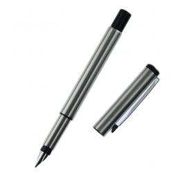 Srebrny z metalu wektor pióro wieczne 0.5mm stalówka w całości z metalu ciała długopisy biznesu prezent pisanie kaligrafii artyk