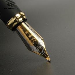 Jinhao X450 Classics grube ciało 1.0mm wygięte stalówka pióro do kaligrafii wysokiej jakości metalowe pióro wieczne luksusowe tu
