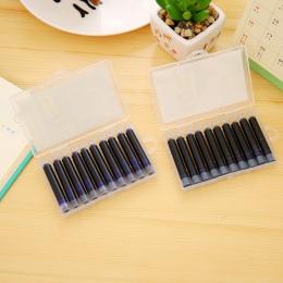 10 sztuk kolor niebieski lub czarny lub czerwony lub zielony 3.4mm wieczne pióro wkłady