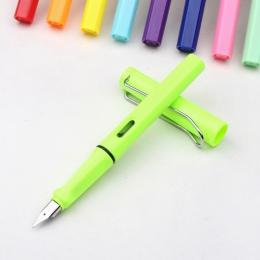 Kolorowe nowe mody 0.5mm 0.38mm wieczne pióro wysokiej jakości wymienne pióro atramentowe biznes szkolne materiały papiernicze