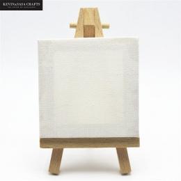 1 zestaw Mini puste płótno do malowania farba akrylowa z wysokiej jakości sztalugi Art materiały eksploatacyjne do malowania art