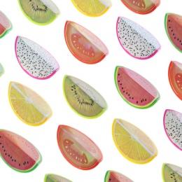 Nowość owoce plastikowa temperówka ołówek nóż nóż koreański papiernicze artykuły szkolne Papelaria