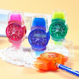 Nowość mini kolorowe temperówki do ołówka maszynki do mielenia z gumką szczotka do biuro szkolne dziewczyny dostarcza maszyna te