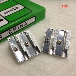 Ze stopu aluminium ze stopu aluminium szkolne biuro temperówka o skośnie ściętych brzegach biurowe praktyczne wydajne przenośne