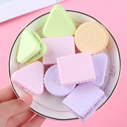 1 pc śliczne Cookie do ostrzenia uczeń temperówka kreatywne artykuły papiernicze losowy styl