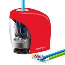 Elektryczny automatyczny temperówka szkoły temperówka dla nr 2 (8mm) ołówki i kolorowe kredki baterii/ładowania USB zasilany ene