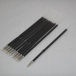 10 sztuk/partia 0.7mm długopis pręt stojak długopis napełniania realizacji czarny niebieski 107mm biuro szkolne
