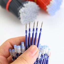 0.5mm 20 sztuk/worek długopis napełniania biuro podpis pręty do uchwyty czerwony niebieski czarny atrament napełniania biuro szk