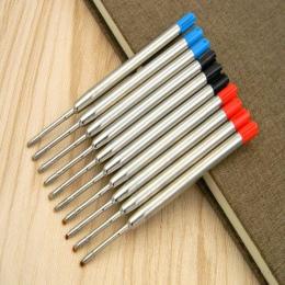 5 Pc czerwony niebieski czarny pasuje do metalowy długopis prezent w stylu długopis wkłady długopisowe