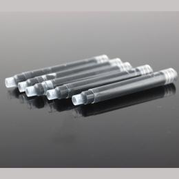 30 sztuk/partia JINHAO 2.6mm kaliber uniwersalny wymienny czarny i niebieski pióro wieczne przenośne pojemnik z tuszem wkłady