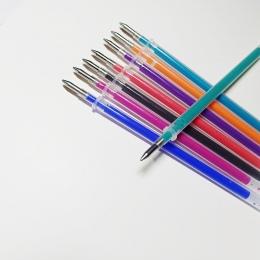 0.5mm wymazywalnej długopis żelowy długopis wkład 4 kolorów atramentu do wyboru wkłady długopisowe magiczny długopis szkoła papi