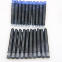 25 sztuk Jinhao czarny uniwersalny wieczne pióro wkłady wkład do pióra