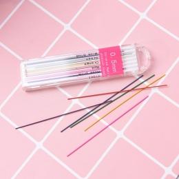 12 sztuk/zestaw 0.5mm premium anti-pękanie wkład do ołówka wkłady grafitowe do ołówków mechanicznych ołówek ołówek