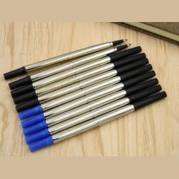 5 sztuk niebieski lub 5 sztuk czarny pióro kulkowe 0.5mm wkład do biurowe darmowa wysyłka