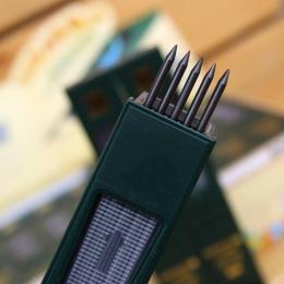 10 sztuk/pudło 2B HB czarny 2.0mm mechaniczny ołówek napełnić szkoła uczeń piśmienne wkłady długopisowe dostaw