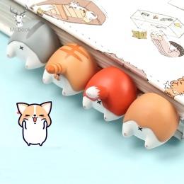Piękny Cartoon pies kot chomika lisa tyłek zakładki nowość książki do czytania przedmiot kreatywny prezent dla dzieci dzieci art