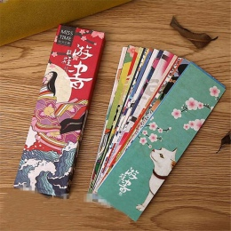 """30 sztuk/partia śliczne Kawaii papieru zakładek """" hotele """"oraz """" wynajem samochodów"""" na górze w stylu Vintage japoński styl ksią"""