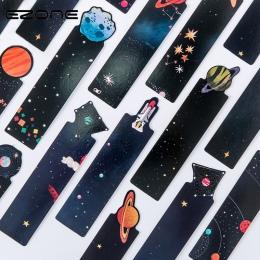 """EZONE 30 sztuk/zestaw planety zakładek """" hotele """"oraz """" wynajem samochodów"""" na górze karty wiadomość kreatywny Galaxy papieru za"""