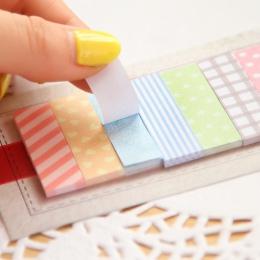 160 stron śliczne Kawaii Memo Pad pledy i linie uwaga rolka do czyszczenia ubrań biurowe Planner naklejki notatniki biuro szkoln