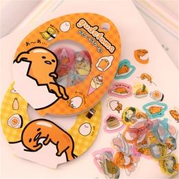 60 sztuk/paczka Sanrio Gudetama leniwy jajka uszczelniające naklejki pamiętnik naklejki na etykiety paczka dekoracyjne Scrapbook