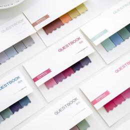 DIY Gradient kolor kreatywne biuro nowość karteczki samoprzylepne naklejki strona główna poczta artykuły szkolne artykuły papier