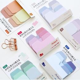 """Kolorowe proste kolor gradientu samoprzylepne indeksy N Times Memo Pad karteczki samoprzylepne zakładek """" hotele """"oraz """" wynajem"""