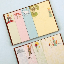 1X kreatywny mały książę Memo Pad tygodniowy plan karteczki Post papiernicze artykuły szkolne Planner naklejki papierowe