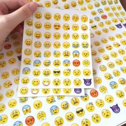 (1 arkusz/sprzedam) emotikon Smile twarz pamiętnik naklejki wysłałem ją do planowanie Scrapbooking Kawaii notatniki dekoracje bi