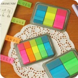 Kawaii cukierki kolor karteczki samoprzylepne Diy planner naklejki Scrapbooking memo pad post artykuły biurowe szkolne artykuły