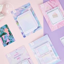"""Kreatywny pary fala samoprzylepne karteczki samoprzylepne karteczki notatnik zakładek """" hotele """"oraz """" wynajem samochodów"""" na sz"""