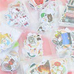DIY śliczne Kawaii naklejki papier zwierząt piękny kot naklejki do dekoracji wnętrz Scrapbooking Diary darmowa wysyłka 1083