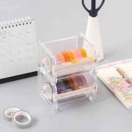 Dozownik taśmy Washi uchwyt frez materiały biurowe akcesoria biurko organizator