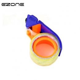 EZONE Taper Cutter przezroczysty klej dozownik taśmy szkolne pulpit niebieski uchwyt taśmy Washi do pakowania dozownik artykuły