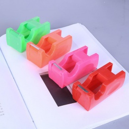 1 sztuk Kawaii cukierki kolor prostokąt mini miarka maszyna do cięcia śliczne taśma do cięcia Cartoon piśmienne taśmy przylepne