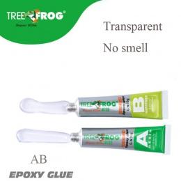 Drzewo żaba wysokiej jakości żywica epoksydowa AB klej przezroczysty mocny plastikowy klej do form metalowych 20g klej uniwersal