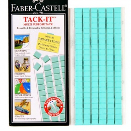 Niebieskim to uniwersalny klej gliny wielokrotnego użytku samoprzylepne dla domu biura szkoły klej usuwalny kit karty 75g 120 sz