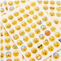1 sztuk śliczne Emoji Smile twarz pamiętnik naklejki wysłane It Kawaii planowanie Memo Scrapbooking naklejki papiernicze artykuł