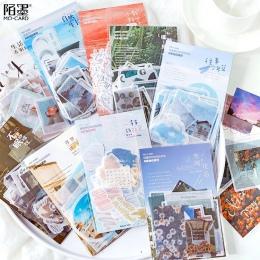 40 sztuk/paczka światła i cienia pamiętnik naklejki na artykuły papiernicze Scrapbooking Diy pamiętnik Album Bullet Journal kij