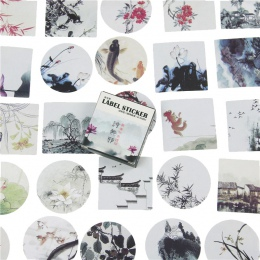 40 sztuk/paczka, japoński naklejki Mini styl papieru naklejka uszczelniająca/Diy dekoracje etykiety