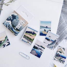 46 sztuk/pudło japoński używany dekoracja z naklejek papierowych DIY pamiętnik scrapbooking prezent karty naklejki dla dzieci ul