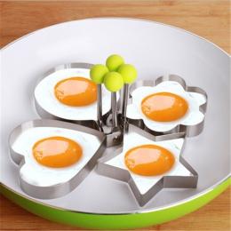 1 sztuk ze stali nierdzewnej jajka sadzone Pancake chleb owoce i warzywa kształt dekoracji akcesoria kuchenne gadżety kuchenne.