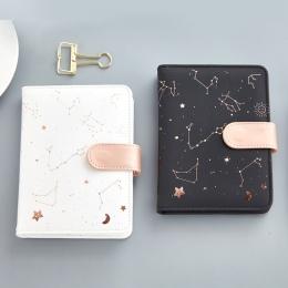 Etui PU harmonogram notebooki kieszonkowy rozmiar porządku obrad organizator miesięczny Planner Notebook