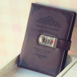2019 Retro Vintage Notebook hasło książka terminarz urząd Lady ochrony prywatności artykuły papiernicze