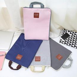 Duży obraz na płótnie A4 Folder plików aktówka walizka biznesowa papieru do przechowywania organizator torba papiernicze szkolne