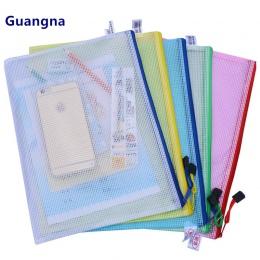1 sztuk wodoodporny zamek z tworzywa sztucznego teczka papierowa książki piórnik na ołówki i pióra torba na dokumenty aktówka dl